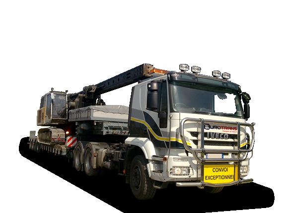 camion porte char col de cygne d boitable transport d engins grande hauteur gros tonnage nord. Black Bedroom Furniture Sets. Home Design Ideas